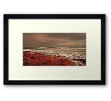 Storm Approaching Cornwall Framed Print