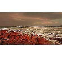 Storm Approaching Cornwall Photographic Print