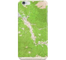 USGS Topo Map Washington State WA Raymond 243383 1955 62500 iPhone Case/Skin