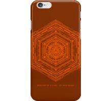Anatomy of a Cube (Orange) iPhone Case/Skin