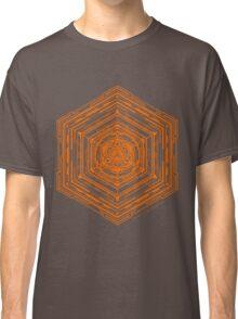 Anatomy of a Cube (Orange) Classic T-Shirt