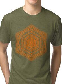 Anatomy of a Cube (Orange) Tri-blend T-Shirt