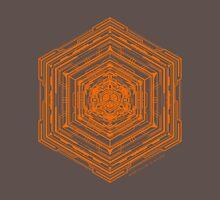 Anatomy of a Cube (Orange) Unisex T-Shirt