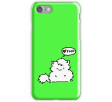 Fat Kitty Mroo!! (case) iPhone Case/Skin