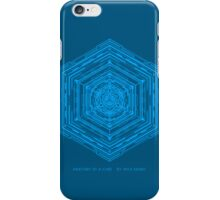 Anatomy of a Cube (Blue) iPhone Case/Skin