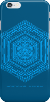 Anatomy of a Cube (Blue) by Cow41087