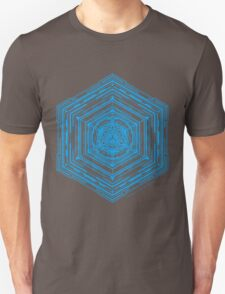 Anatomy of a Cube (Blue) T-Shirt