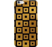 Gold Foil Art Deco Pattern iPhone Case/Skin