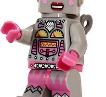 Lady Retro Robot by ajk92
