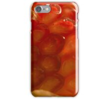 Macro Pomegranate iPhone Case/Skin