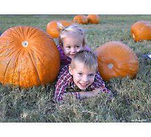 Fall Fun Photographic Print