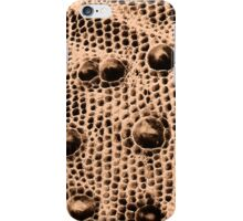 Brown Snake Scales iPhone Case/Skin