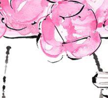 Flowers pink Sticker