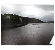 view from barmouth bridge,  Poster