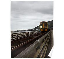 Barmouth train  Poster