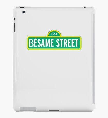 Besame street iPad Case/Skin