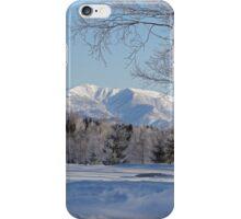 Winter landscape Japan iPhone Case/Skin