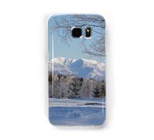 Winter landscape Japan Samsung Galaxy Case/Skin