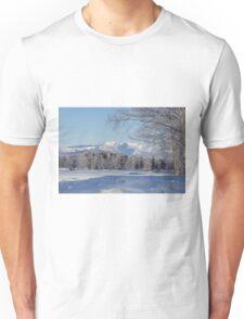 Winter landscape Japan Unisex T-Shirt