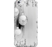 Silvery iPhone Case for Christmas Season iPhone Case/Skin