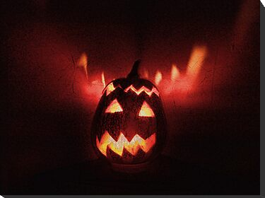 Jack-o'-lantern, Halloween is coming! by Maria  Gonzalez