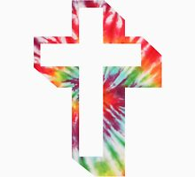 tie-dye-cross Unisex T-Shirt