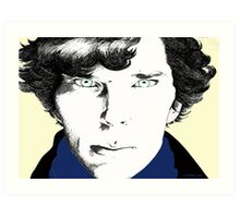 The Consulting Detective Art Print