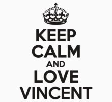 Keep Calm and Love VINCENT Kids Clothes