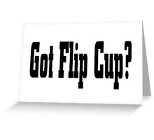Flip Cup Greeting Card