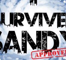 I SURVIVED SANDY TEE :D Sticker
