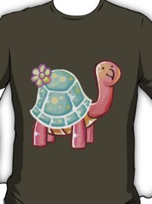 Flower Tortoise T-Shirt