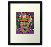 Africana Electronica Framed Print
