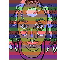 Africana Electronica Photographic Print