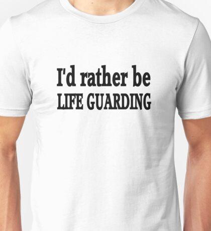 Life Guard Unisex T-Shirt