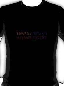 Teenage Mutant Ninja Turtles Ambigram T-Shirt