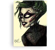 Yara Sofia as Medusa Canvas Print