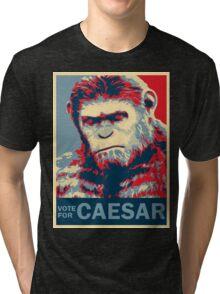 VOTE FOR CAESAR Tri-blend T-Shirt