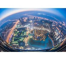 Planet Dubai Photographic Print