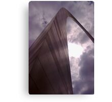 The Saint Louis Arch Canvas Print