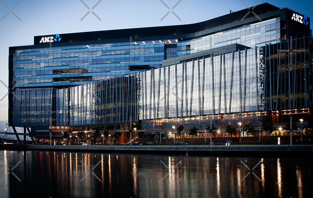 ANZ HQ Docklands by JHP Unique and Beautiful Images