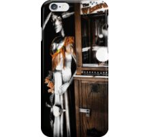 The Wizard Tells All iPhone Case/Skin