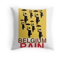 Homage to Magritte  Throw Pillow