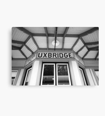 Uxbridge Station Canvas Print