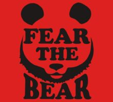 Fear the Bear- SF Giants  One Piece - Short Sleeve