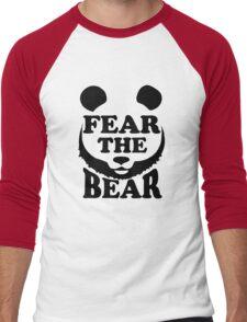 Fear the Bear- SF Giants  Men's Baseball ¾ T-Shirt