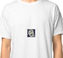 woodcut lady Classic T-Shirt