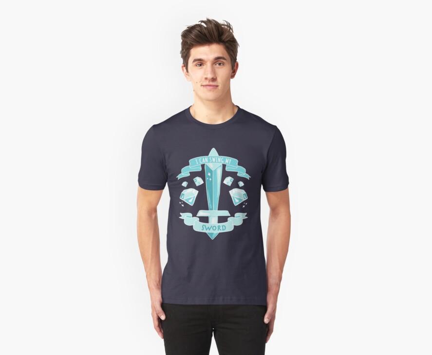 Diamond Sword - Tshirt by AshWarren