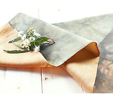 Table Runner River Red Gum detail Photographic Print