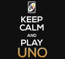 Keep Calm and Play Uno! One Piece - Long Sleeve