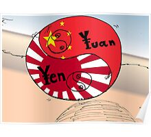 Ying Yang Yen Yuan en bande dessinée Poster